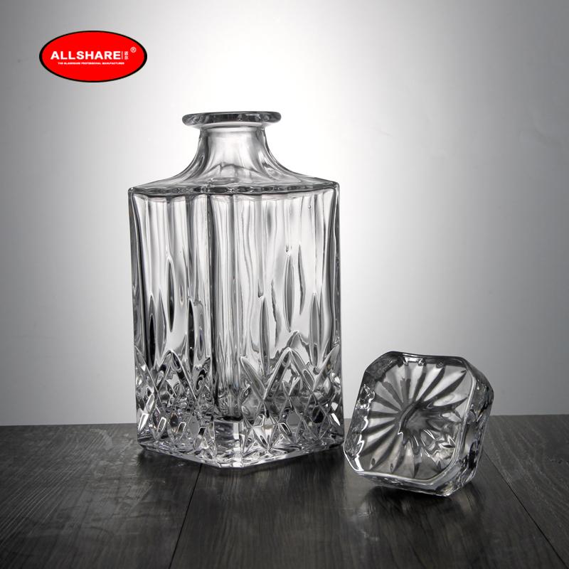 whiskey glass bottle set 02