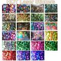 100 PC Novo Laser Holográfico Foils Decalques Prego Foils 2016 Nova Moda Manicure Dicas Da Arte Do Prego Adesivos De Transferência de Papel TME050