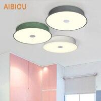 AIBIOU творческих потолочные светильники для Гостиная светодиодный на потолке Чтение Свет Романтический Спальня светильники