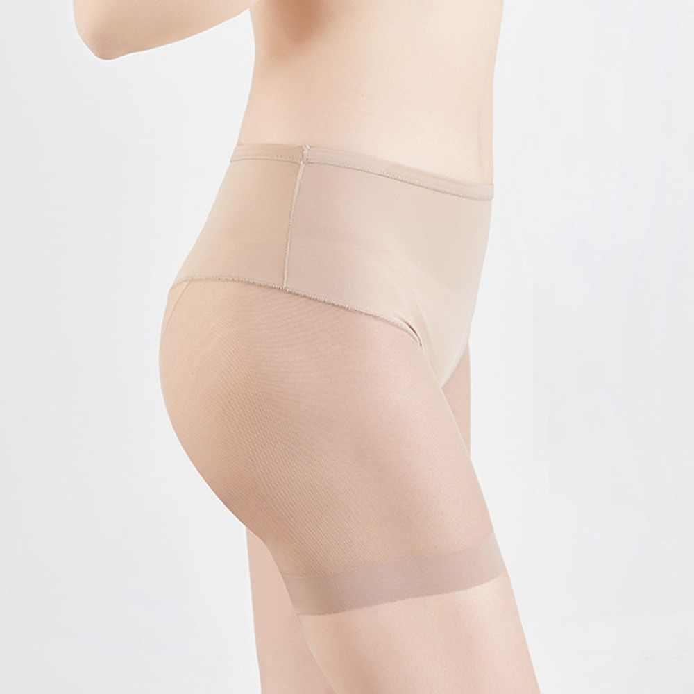 Kobiety bielizna modelująca szorty majtki połowy uda Body Shaper Body bez szwu bielizna talia trener panie Body Shaping bielizna BB4
