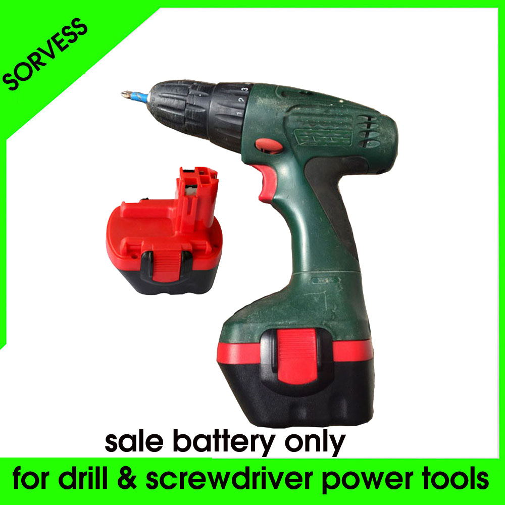 Sorvess <font><b>12V</b></font> NI-CD Rechargeable <font><b>Battery</b></font> Pack <font><b>1.3Ah</b></font>-3.0Ah Replace For BOSCH Cordless Electric Drill And Screwdriver Power Tools image