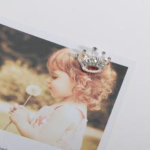 20X16 мм мини-стразы, тиара, корона, пуговицы, плоская задняя сторона, украшение для рукоделия, бант для волос, цветок, 10 шт.(BTN-5732