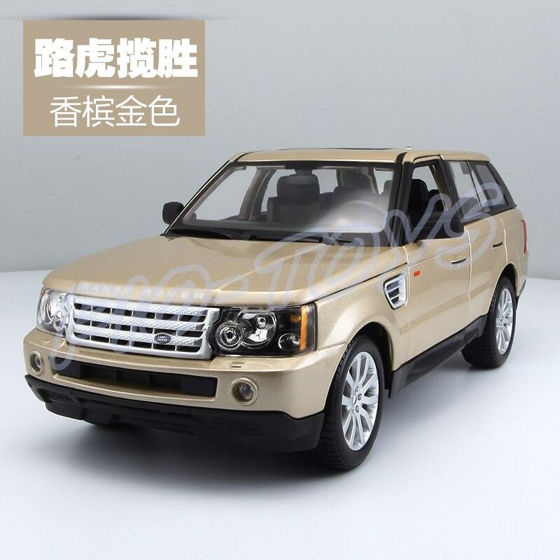 Подарок на Новый год RR 1/18 большой модель автомобиля Металл внедорожник автомобиля спереди украшения сплава роскошный подарок Для мужчин ко...