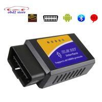 10pcs MINI ELM327 Bluetooth obd2 V2.1 Car Diagnostic Scanner For Android/PC ELM 327 Obd 2 Auto Code Reader Diagnostic tool