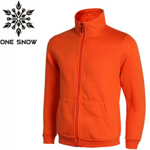 ONE SNOW Sport Outdoor Brand Men New Outdoor Fleece Jacket Thermal Anti-sweat Polartec Breathable Spring Camping Hiking Jacket