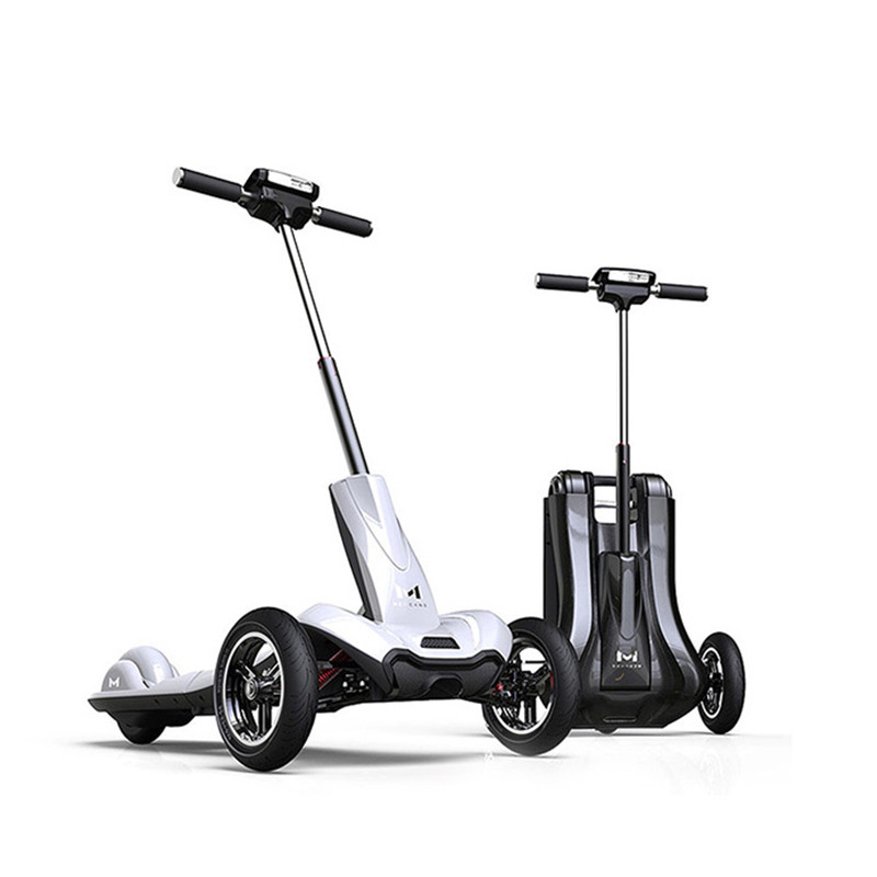 все цены на MERCANE M1 three-wheeled electric scooter Folding lithium battery bicycle