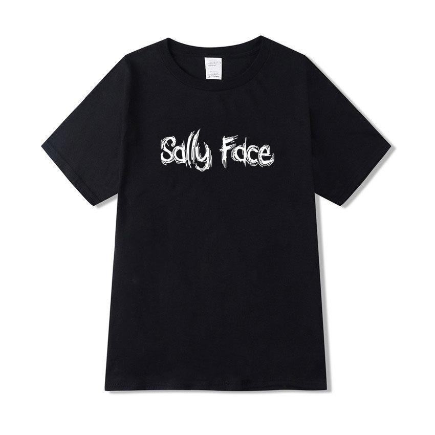 Sally Face t shirt Men Women Harajuku Unisex Summer T-shirt Cartoon Printed Too Tees Casual Clothing Cosplay Costume