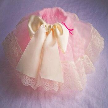 1T Baby Girl Ribbon Short Tutu Skirt Chiffon Casual Ruffle Mini Tutu Pink Layers Ball Gown Pettiskirt For Child Kids Party Skirt