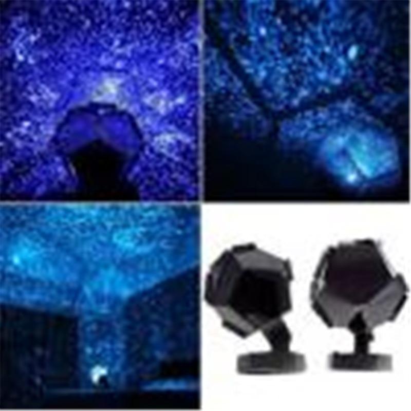 2017 Nuovo Arrivo Celeste Stella Cosmos Lampada di Notte Luci di Notte Del Proiettore Proiezione Starry Sky trasporto di Goccia