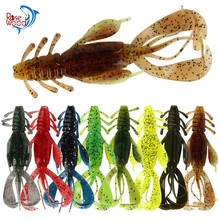 RoseWood 5pcs/Lot 10.3cm 10.4g Soft Bait Double Sided Style Fishing Lures Perfect Creature Fish Lure For Deep And Shallow Waters