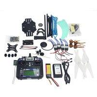 Full Kit RC Drone Quadrocopter 4-axle Aircraft Kit 500mm Multi-Rotor Air Frame 6M GPS APM2.8 Flight Control Gimbal PTZ F08151-I