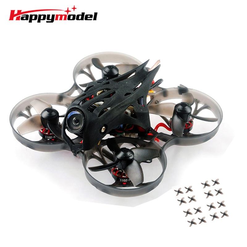 Upgrade Happymodel Mobula7 HD 2-3S 75mm Crazybee F4 Pro Whoop FPV Racing Drone PNP BNF w/ CADDX Turtle V2 HD Mini Camera