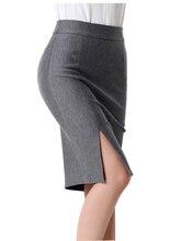Female New Hot Fashion 2019 Spring Summer Women Skirt High Waist Work Slim Pencil Skirt Open Fork Sexy Office Lady Skirts NO778