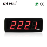 [GANXIN]2.3 inch 4 digits 9999 days count up countdown timer led counter