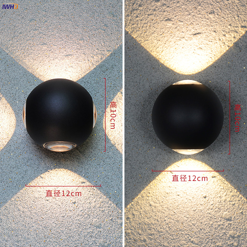 Iwhd alumínio redondo conduziu a lâmpada de