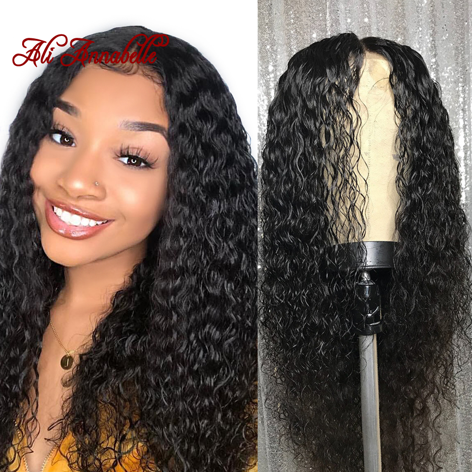 Deep Wave Lace Front Human Hair Wigs Glueless Brazilian Lace Front Human Hair Wigs With Baby
