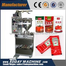relay high quality fast speed tomato paste ketchup honey packaging machine 1 150ml bigger model supplied