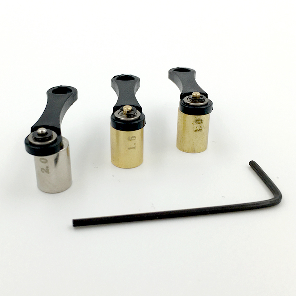 3 stykker / Sett EZ Tattoo Machine Replacement Parts Lager for - Tatovering og kroppskunst - Bilde 2