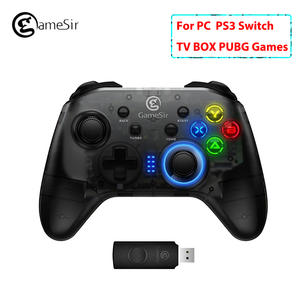 Original GameSir T4 2.4G Wireless  wired Gamepad Pubg Games Controller Joystick for Windows PC Switch PS3 TV BOX Smartphones