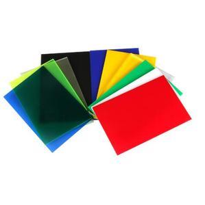 300x200x2.7mm 7 colors Acrylic Board Glossy translucent Plexiglass Plastic Sheet Organic Glass Polymethyl Methacrylate