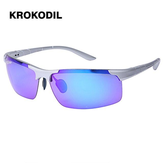 HD UV400 Lentille D origine lunettes de Soleil De Magnésium Miroir Hommes  Femmes Marque Sport eb7eecc95dd5