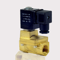 AC220V/110V,DC24V/12V G3/4 Brass Electric Solenoid Valve High Pressure 1.3MPa Water Air Oil Normally Closed