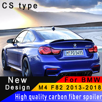 For BMW M4 F82 2013 2017 Carbon Fiber Rear Wing High Quality Carbon Fiber Spoiler