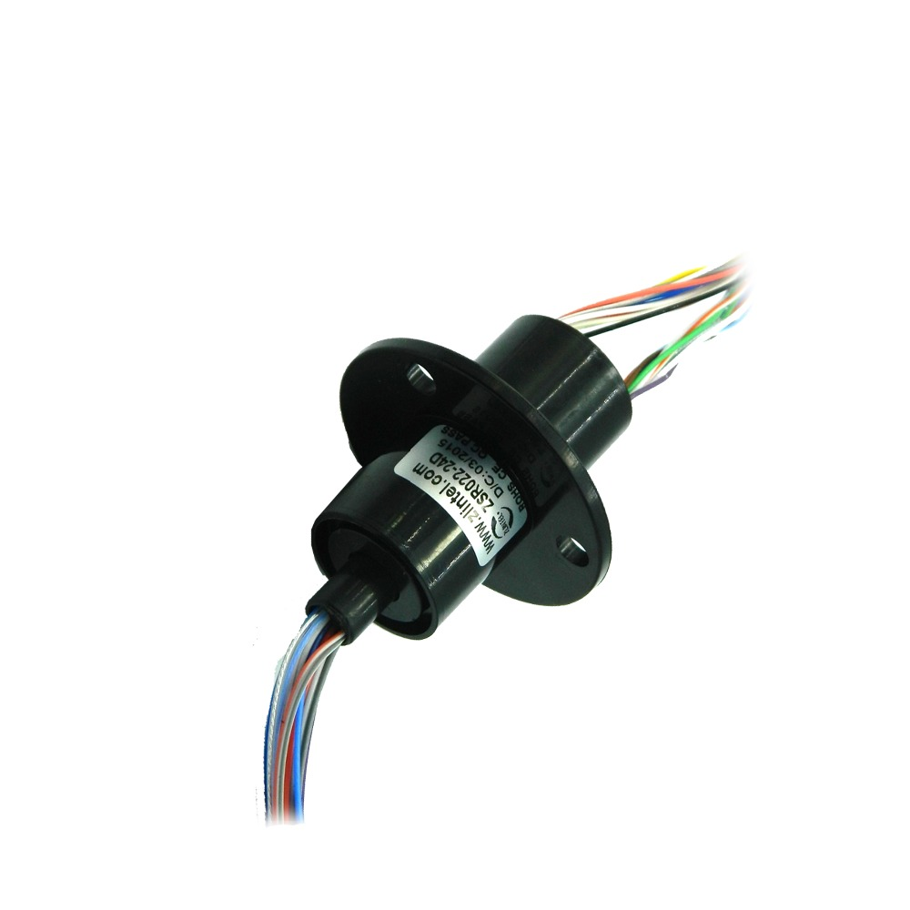 ZSR022 24D Capsule Slip Ring 16 5mm Out Diameter 24 Channel 2A High Speed Ball Accessories