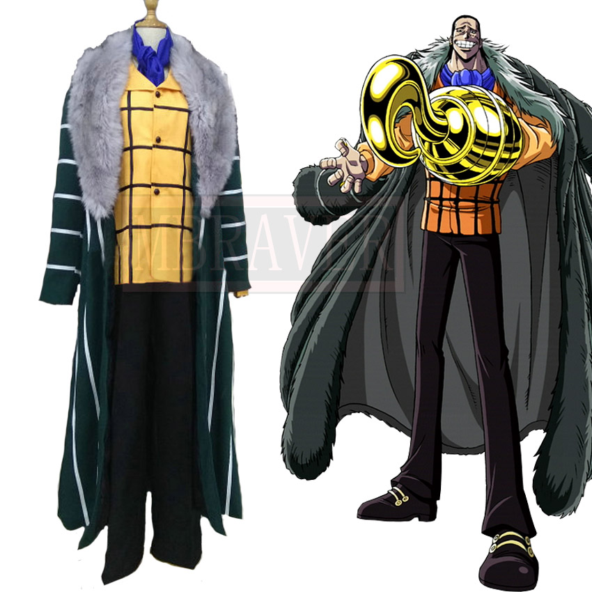 One Piece Shichibukai Sir Crocodile Cosplay Costume Custom ...
