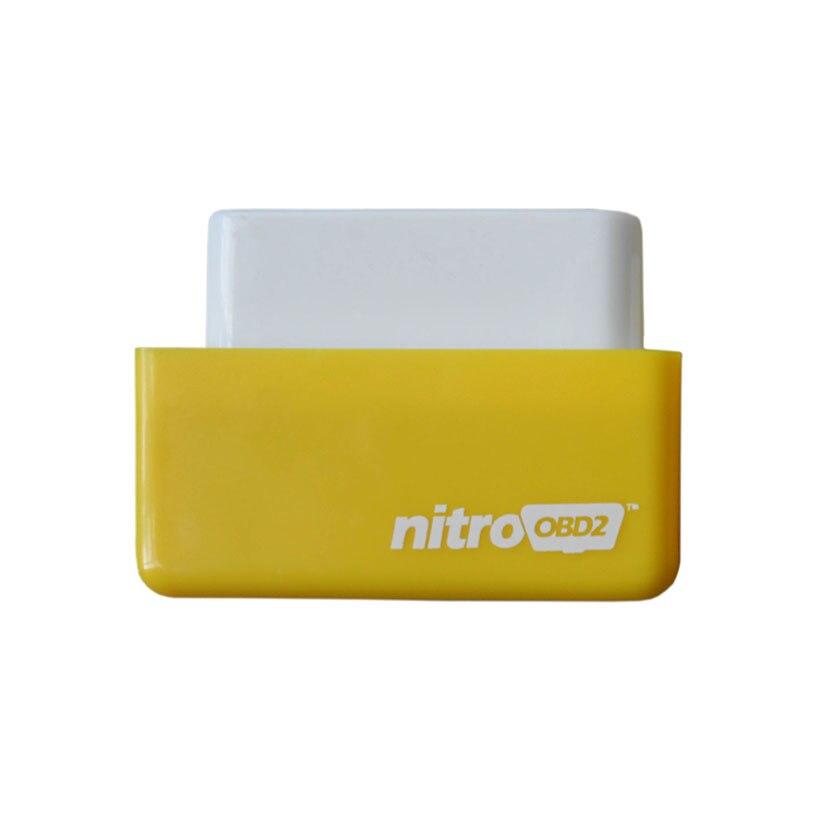 Новые OBDII подключи и Драйв nitroobd2 производительность чип тюнинг коробка для Автомобили более Мощность и крутящий момент Nitro OBD2 Бесплатная дос...