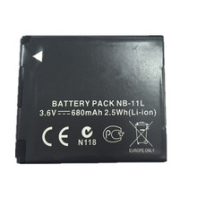 NB-11L NB 11L lithium batteries pack NB11L Digital camera battery For Canon A2600 A3500 A4000IS IXUS 125 132 140 240 245 265 155