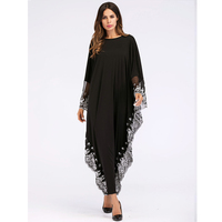 abaya New African Dresses for Women European and Bat muslim dress islamic clothing malaysia