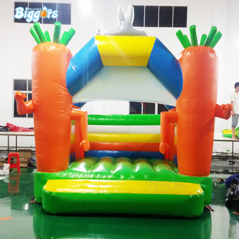 YARD Commercial Customized Shape Inflatable Carrot Bounce House Air Jumper Game With BlowersYARD Commercial Customized Shape Inflatable Carrot Bounce House Air Jumper Game With Blowers