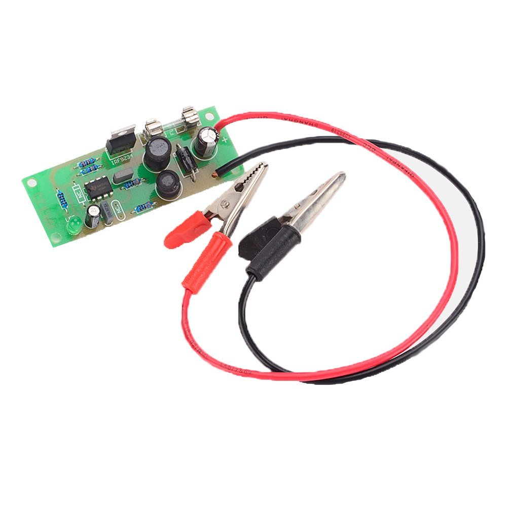 12 Volts Lead Acid Battery Desulfator Assembled Kit Alligator Clip With REVERSE POL PROTECTION-in Chargers from Consumer Electronics