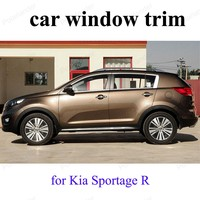 For K ia Sportage R Window Trim Exterior Car Accessories Stainless Steel Car Styling