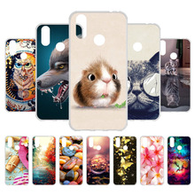3D DIY Soft TPU Case For Cubot X19 Cover X 19 5.93 Cases Silicone Cute Patterned Animal Phone Fundas Bumper