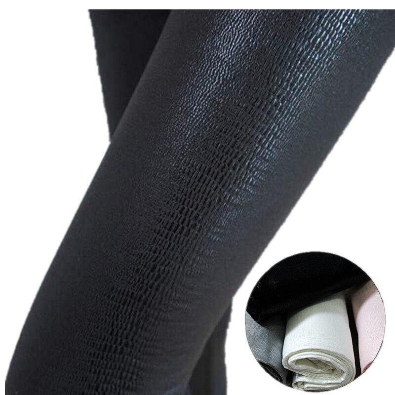 Snakeskin Leggings Women PU Leather Pants Pattern High Stretch Quality Skinny Black  Matte Casual Punk Rock Leggings