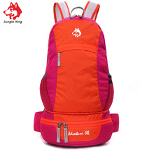 Jungle King 2017ultra-light outdoor mountaineering bag 30L multi-functional waterproof sports mountaineering skin folding pocket цены онлайн