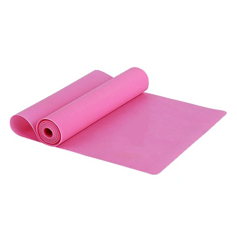 1PC 1.5m Elastic Yoga Pilates Rubber Stretch Resistance Exercises Fitne