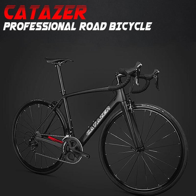 HTB1NG5OadjvK1RjSspiq6AEqXXa8 - CATAZER 700C Highway Bicycle Tremendous Mild Full T700 Carbon Body Racing Highway Bike Carbon Wheelset 22 Pace Skilled Highway Bike