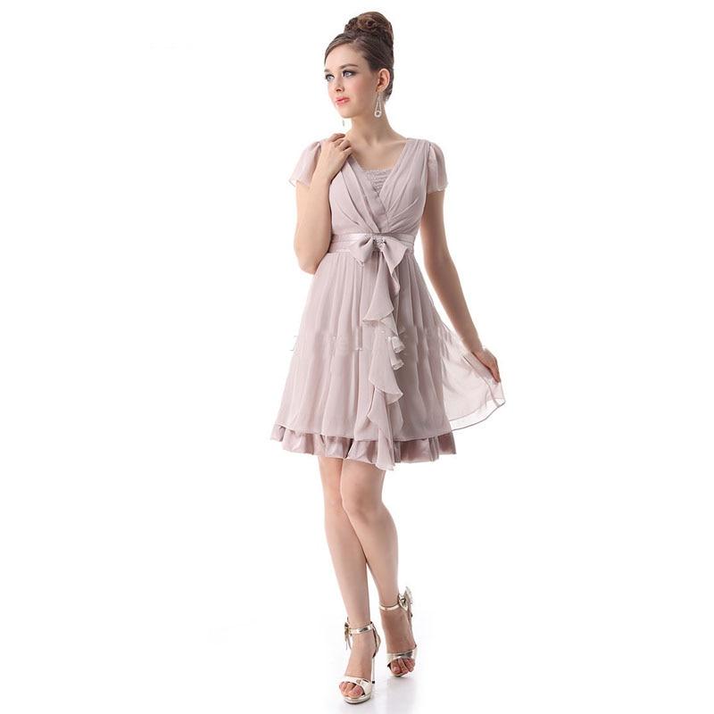 Aliexpress Com Buy New Design Simple But Elegant Short: Gorgeous Vesidos 2016 New Design Sexy V Neck Vintage Short