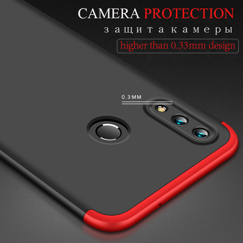 Case Huawei Honor 20 Honor 20 Pro Lite Funda Tempered Glass Case360 Huawei Honor 10 lite 10i 8X Luxury 3 IN 1 Hard PC Full Cover in Fitted Cases from Cellphones Telecommunications