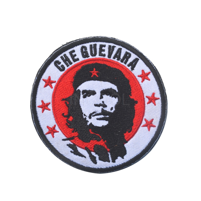 Custom Embroidered Patch famous figure Iron On Applique for clothing can be customized