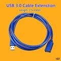 ChengHaoRan 25 30 50 шт через DHL USB удлинитель 1 5/3/5 м USB 3 0 Мужской и женский прочный удлинитель кабель для синхронизации данных 5 Гбит/с