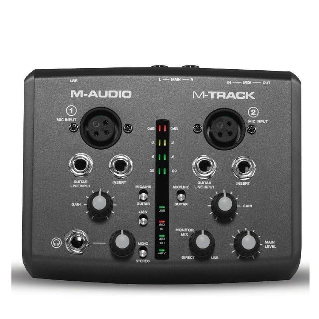 boutique originale m audio m track interfaccia audio usb scheda