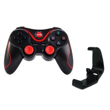 Game Controller Smart Wireless Joystick Bluetooth Android Gamepad Gaming Remote Control T3 Phone For PC Phone(China)