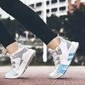 Neue Air-atmungsaktive Fliegen Gewebt Sport Casual Schuhe-Koreanische Version von 100-lap Laufende männer Flut schuhe