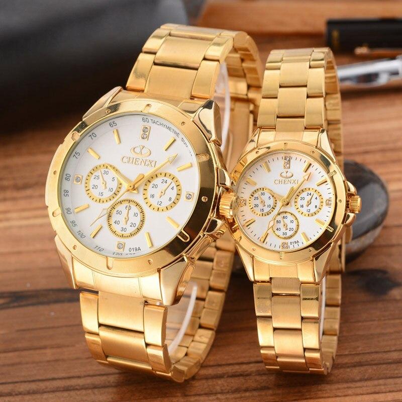 aliexpress buy chenxi gold watches