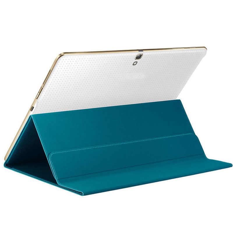 Etui na tablet 10.5 uniwersalny Ultra Slim Book pokrowiec etui do Samsung Galaxy S 10.5 Cal SM-T800/T805 ze skóry pokrywy skrzynka z6