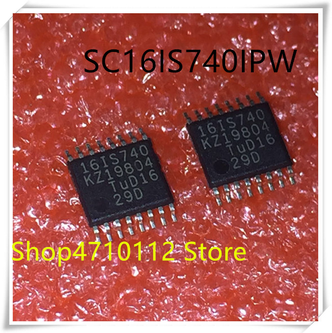 NEW 10PCS LOT SC16IS740IPW SC16IS740 16IS740 TSSOP 16 IC